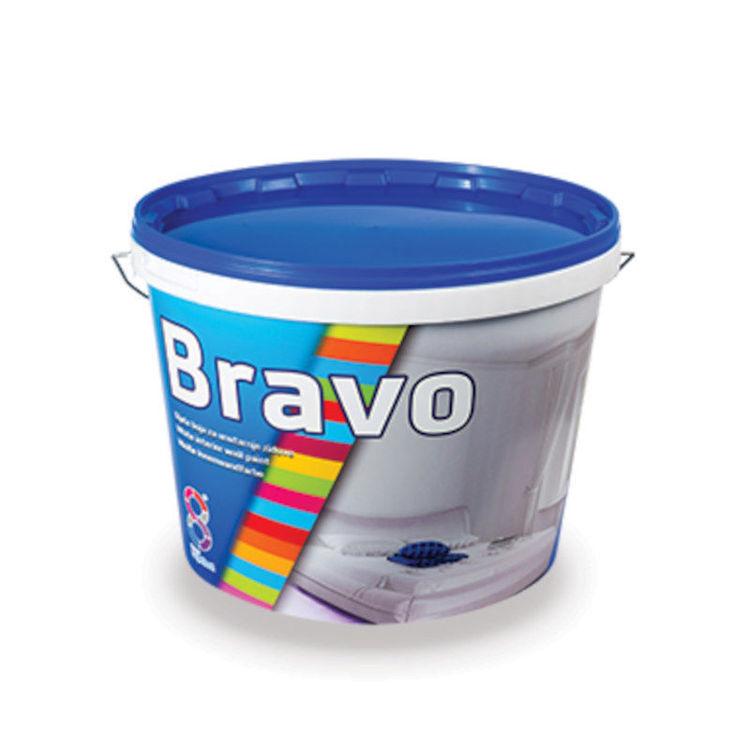 Alles BRAVO boja za unutarnje zidove 2 l