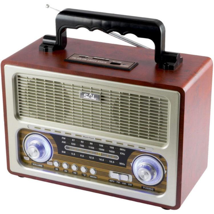 Alles SAL retro radio + BT bežični zvučnik 4in1 RRT3B