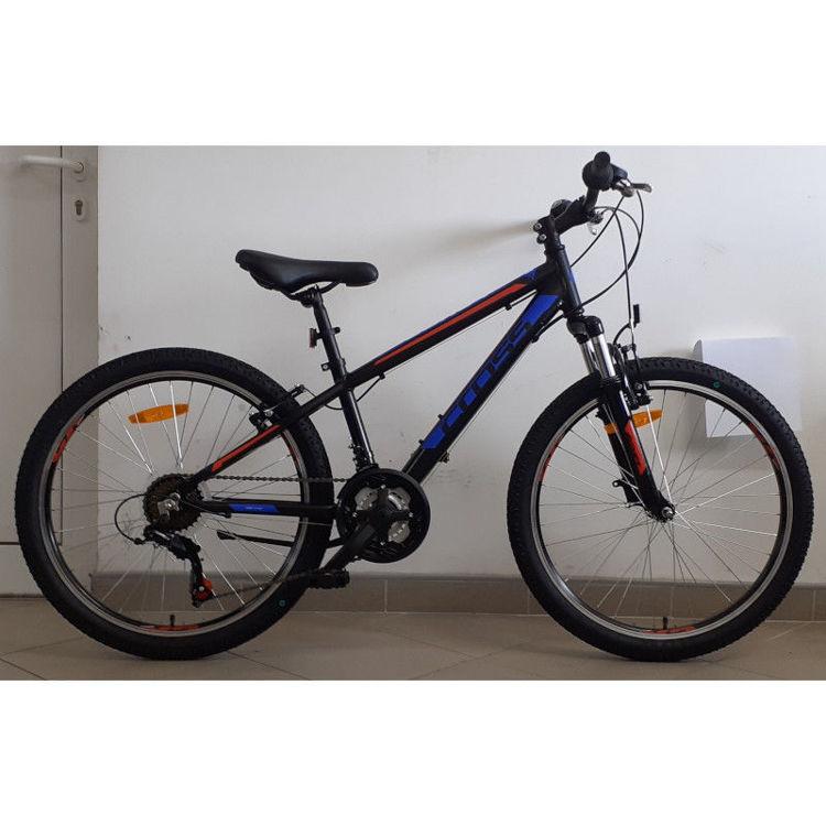 """Alles CROSS bicikl BOXER 24"""" ALU CRNO-PLAVO-CRVENI"""