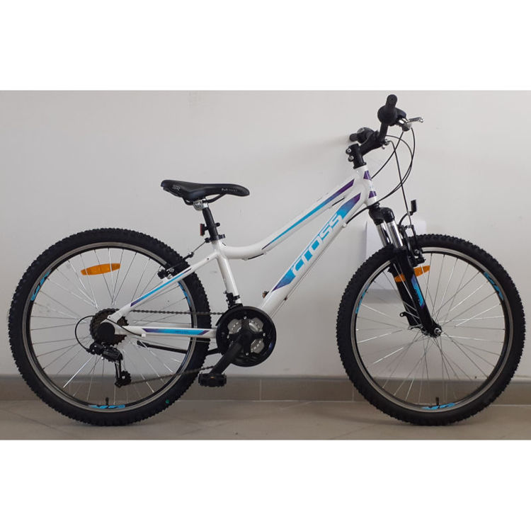 "Alles CROSS bicikl DAISY 24"" ALU BIJELO-PLAVO-LJUBIČASTI"