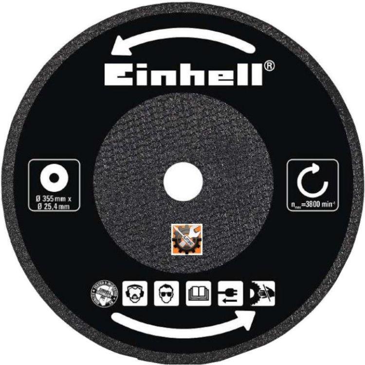 Alles EINHELL rezna ploča za metal 355x25,4x3,2 mm