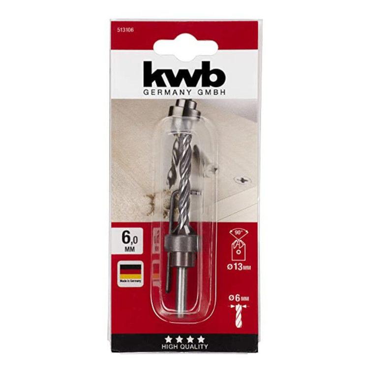 Alles KWB svrdlo za drvo s upuštačem 6 mm