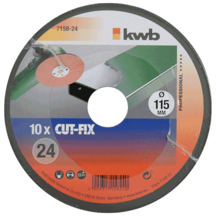 Alles KWB brusni papir 115 mm za kutnu ugaonu brusilicu GR 24 10/1 (715824)