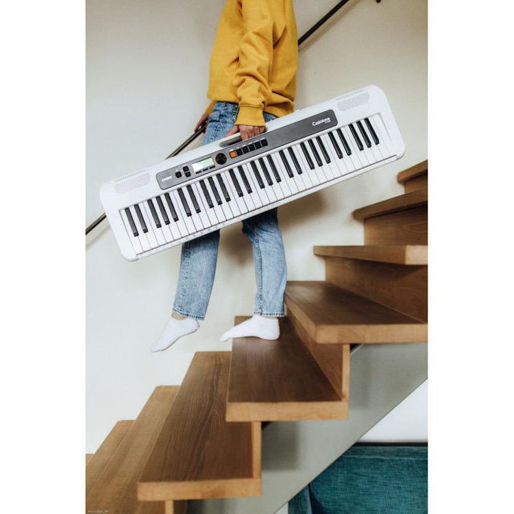 Alles CASIO klavijatura električna CT-S200WE s adapterom