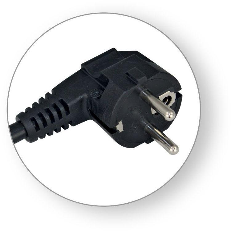 Alles COMMEL priključni kabel 16A 0619 CRNI