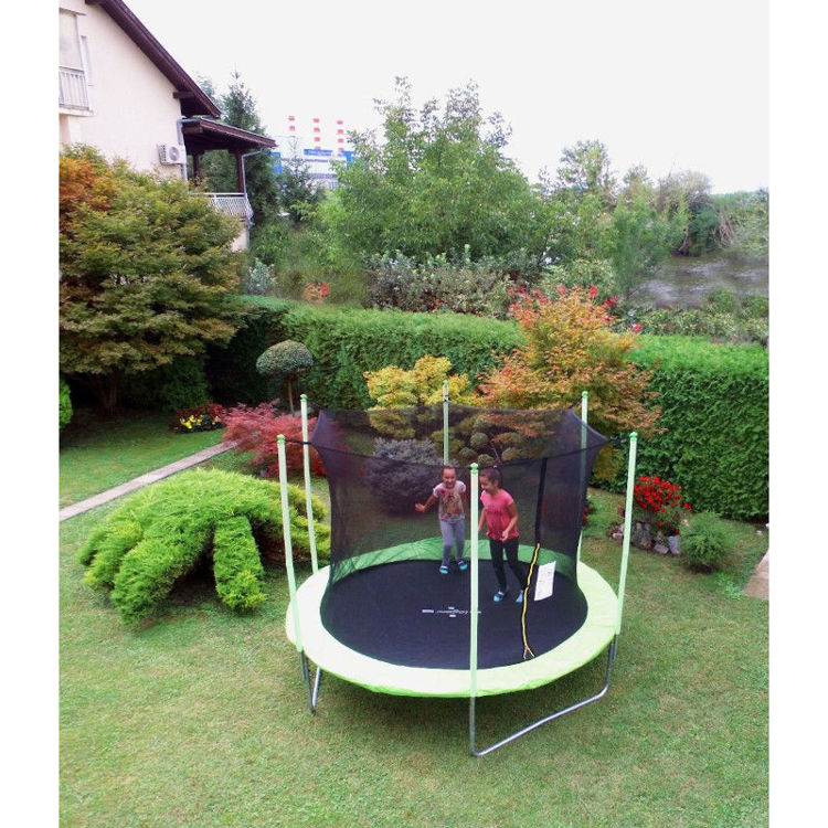 Alles LEGONI trampolin sa zaštitnom mrežom i ljestvama 425 cm