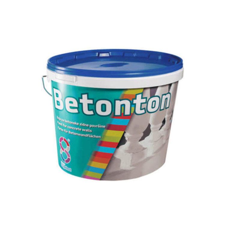 Alles BETONTON boja za betonske zidne površine 5 l SIVA 07