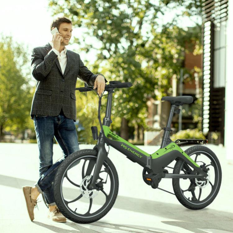 Alles MS ENERGY bicikl električni I10 CRNO-ZELENI