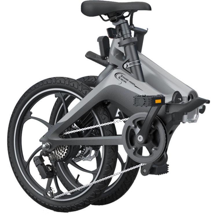 Alles MS ENERGY bicikl električni I10 CRNO-SIVI