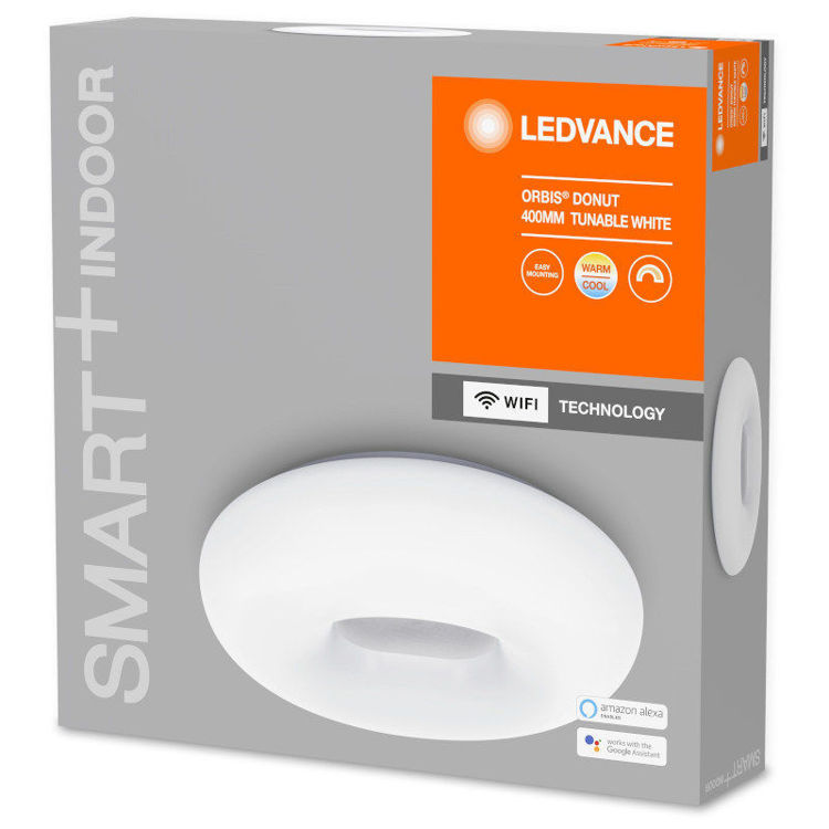 Alles LEDVANCE LED svjetiljka SMART + WIFI ORBIS Donut 400 WT