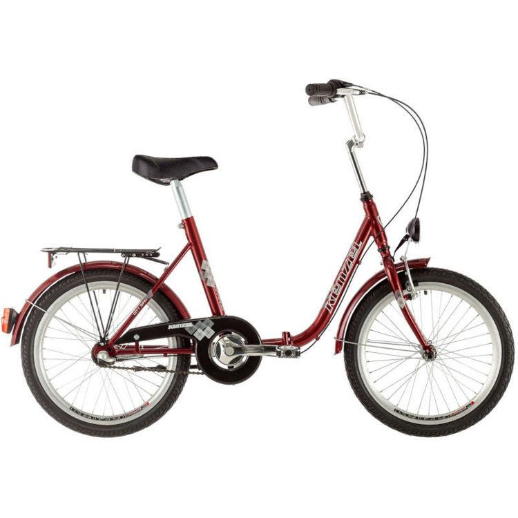 "Alles KENZEL bicikl CAMPING NEXUS 20"" BORDO"