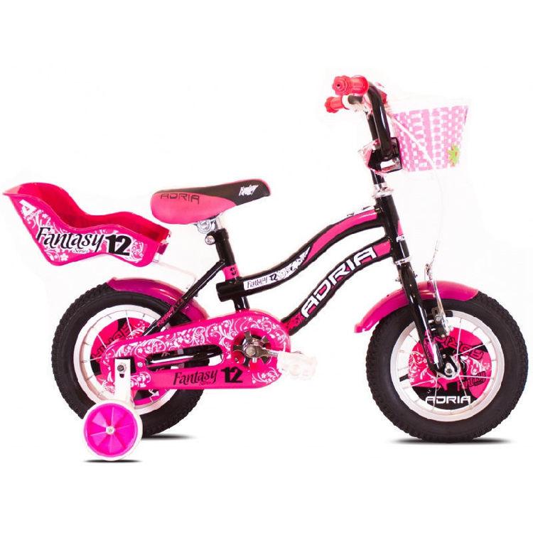 """Alles CAPRIOLO bicikl FANTASY 12"""" CRNO-ROZI"""