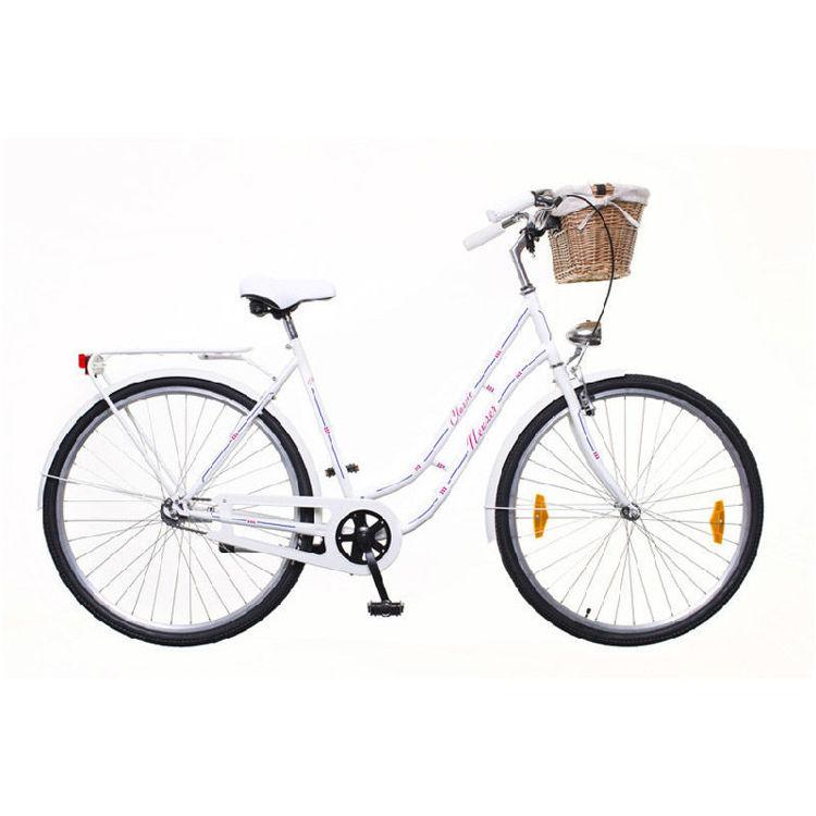 "Alles NEUZER bicikl CLASSIC Premium 28"" BIJELI"
