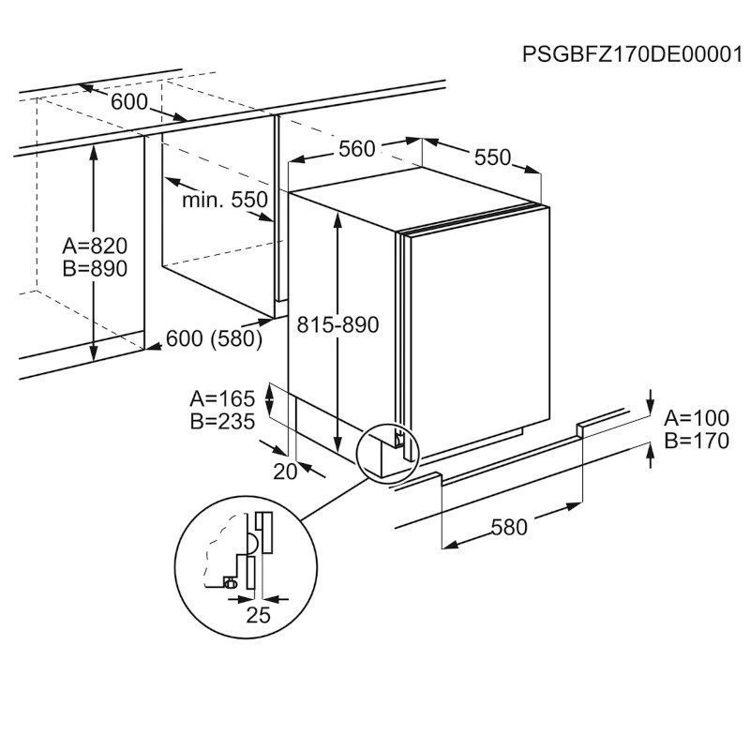 Alles ELECTROLUX hladnjak ugradbeni LXB2AF82S