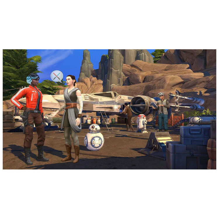 Alles THE SIMS 4 Game Pack 9: Star Wars - Journey to Batuu PS4