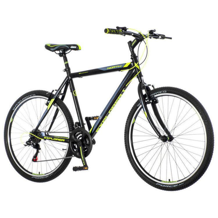 "Alles EXPLORER bicikl 26"" NORTH crno-zeleni"