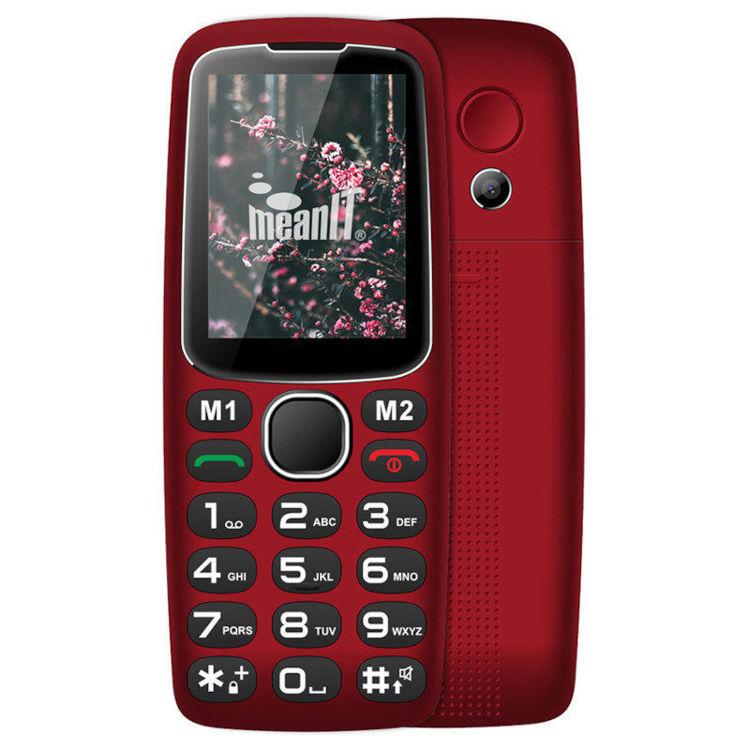 Alles MEANIT mobilni telefon SENIOR 10 CRVENI