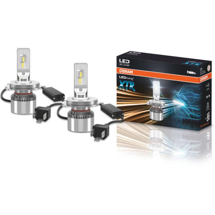 Alles OSRAM LED auto žarulja 64193DWXTR 13W/13W/6000K H4 12V P43T DUO-Pack