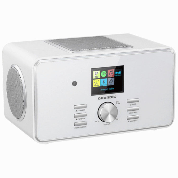 Alles  GRUNDIG radio DTR 6000 X bijeli