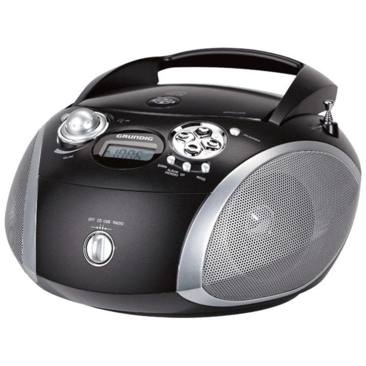 GRUNDIG radio GRB 2000 crno srebrni