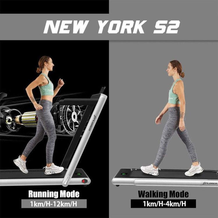 Alles XPLORER traka za trčanje NEW YORK S2 SILVER