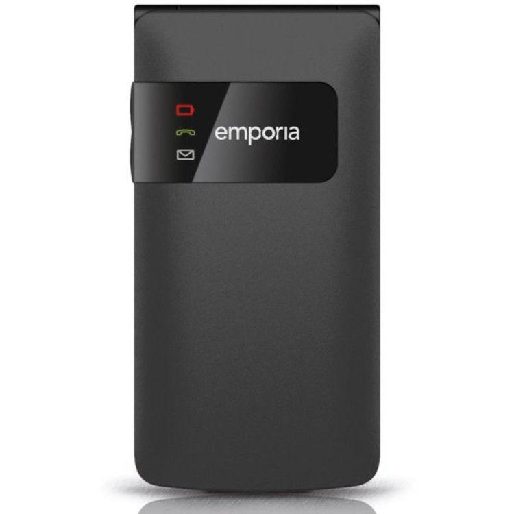 Alles EMPORIA mobilni telefon FLIPBASIC F220 CRNI