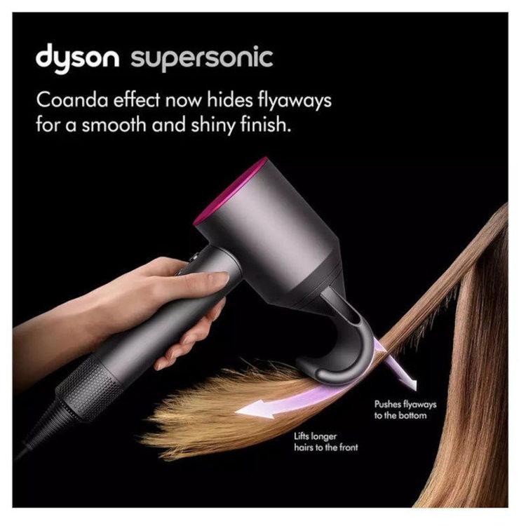 Alles DYSON Supersonic Black/Nickel sušilo za kosu HD07