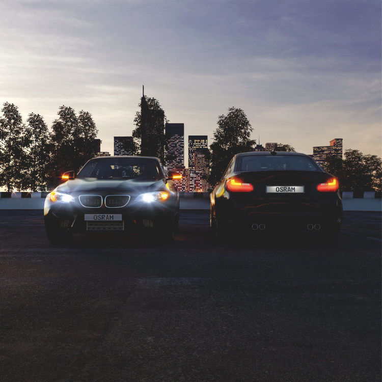 Alles OSRAM LED auto žarulja SL PY21W BAU15S